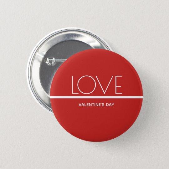 Love Valentines Day | Button