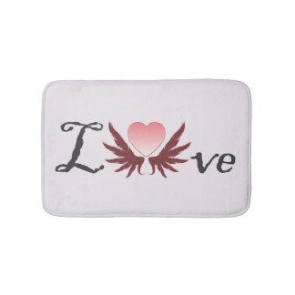 Love - valentine's day designs, bathmat