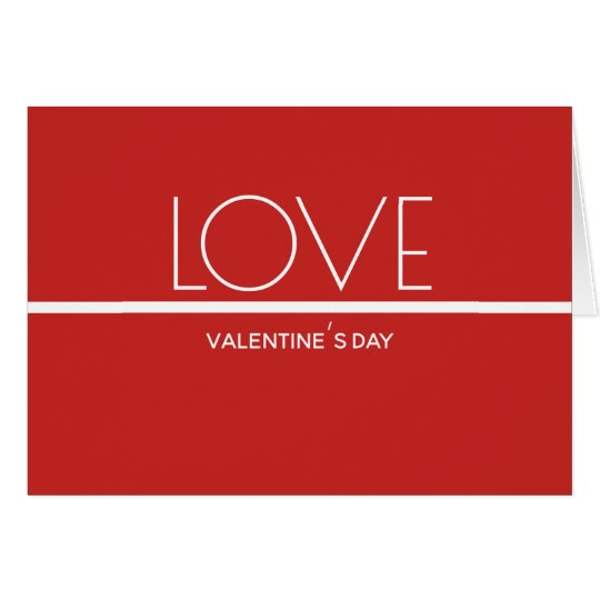 Love Valentines Day | Greeting Card
