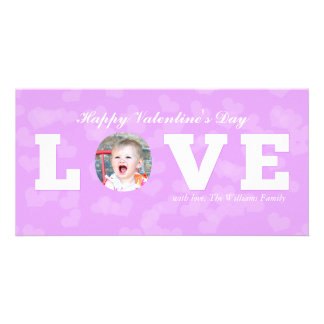 LOVE | Valentine's Day Photo Card Template