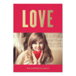 Love | Valentine's Day Photo Card 13 Cm X 18 Cm Invitation Card