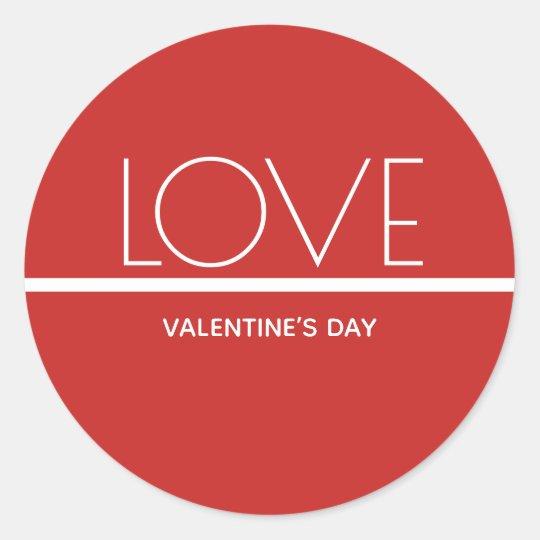 Love Valentines Day   Sticker