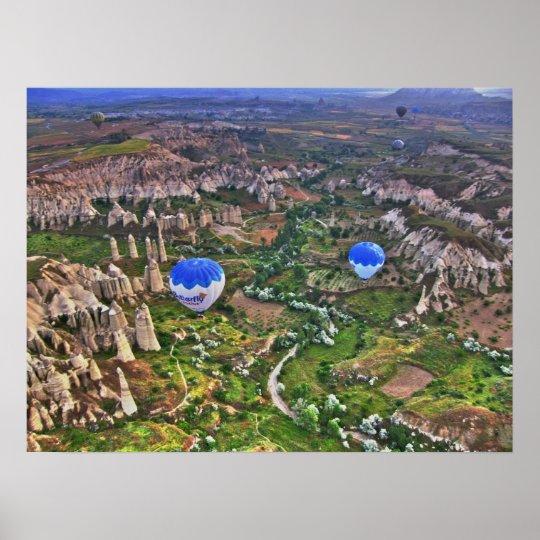 Love Valley Canyon in Cappadocia Poster