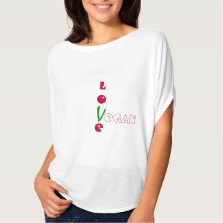 LOVE VEGAN LOVE SHIRTS