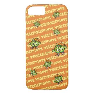 LOVE VEGETABLES!! - Pumpkin- iPhone 8/7 Case