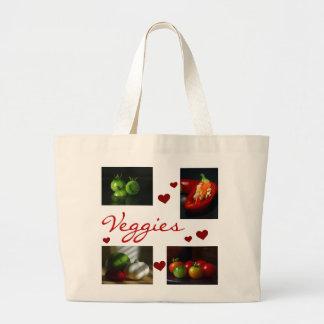 Love Veggies Tote Bag