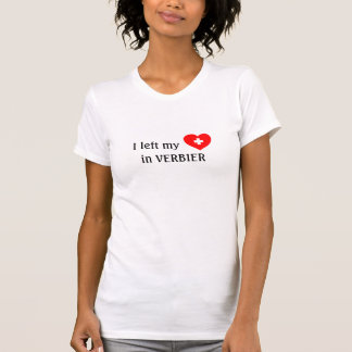 Love Verbier - Swiss souvenir t-shirt