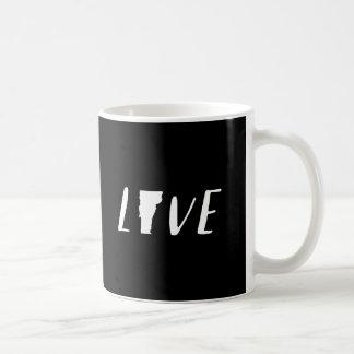 Love Vermont - White State Mug