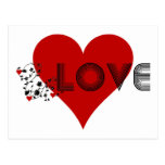 LOVE Vine with Hearts