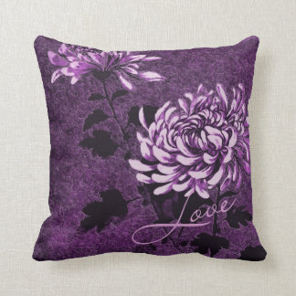 Love: Vintage Floral Pillow