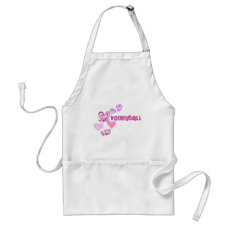 Love Volleyball Apron