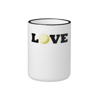 Love Volleyball Coffee Mug