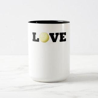 Love Volleyball Mug