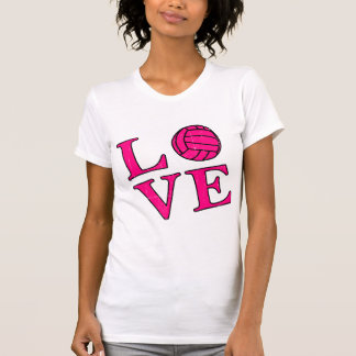 Love Volleyball (Pink) T-Shirt