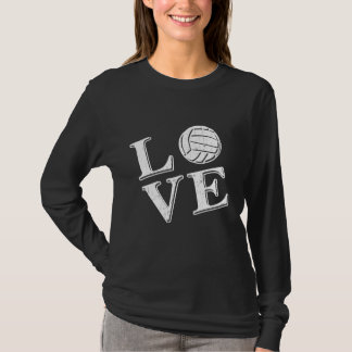Love Volleyball (White) T-Shirt