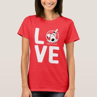 LOVE Waggin' Tails - women's dark T-Shirt