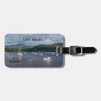 Love Wales Boats at Barmouth Luggage Tag
