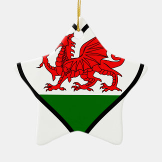 Love Wales Christmas Ornament