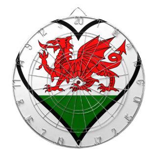 Love Wales Dartboard