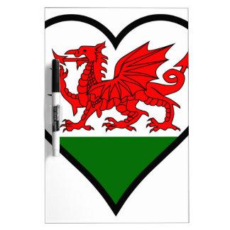 Love Wales Dry Erase Board