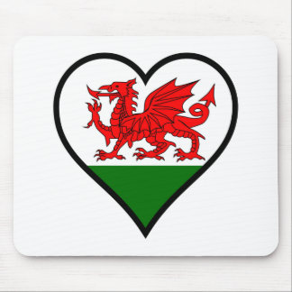 Love Wales Mouse Pad
