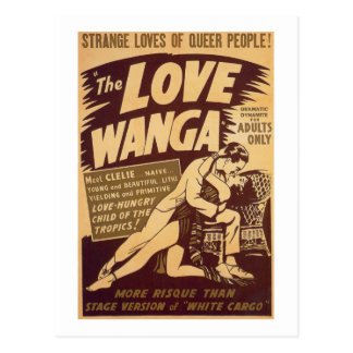 Love Wanga Postcard