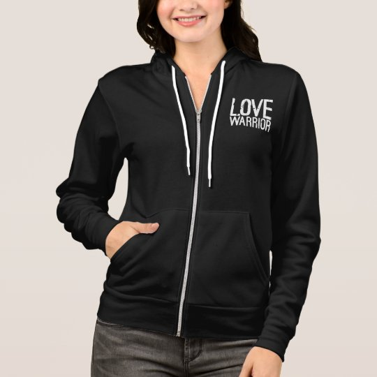 Love Warrior Fleece Zip Hoodie