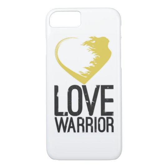 Love Warrior iPhone 7 Barely There Case