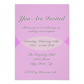 Love Was Just a Word 13 Cm X 18 Cm Invitation Card