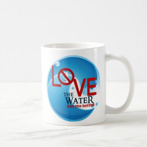 Love Water Classic White Coffee Mug