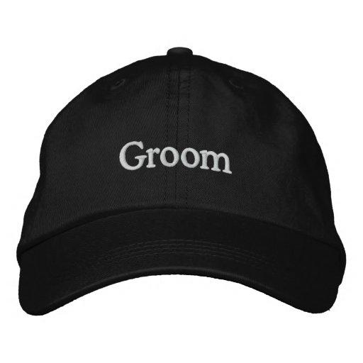 LOVE Wedding Groom Embroidered Baseball Caps