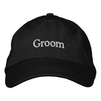 LOVE Wedding Groom Embroidered Hat
