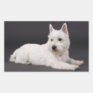 Love West Highland Terrier Puppy Dog Sticker Seal