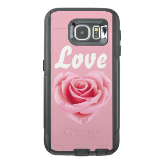 Love Wet Rose Cell Phone Case