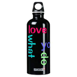 Love what you do SIGG traveller 0.6L water bottle
