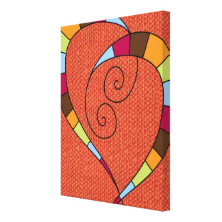 Love Whimsy Gallery Wrapped Canvas