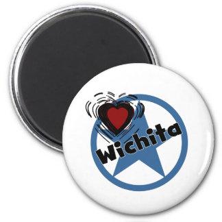 Love Wichita Magnet