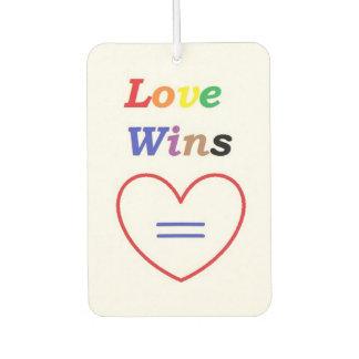 Love Wins - Air Freshener