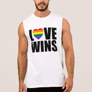 LOVE WINS! CELEBRATE MARRIAGE EQUALITY! #LOVEWINS SLEEVELESS SHIRT