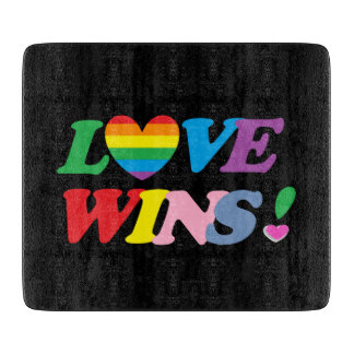 Love Wins Cutting Board
