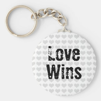 Love Wins Key Ring