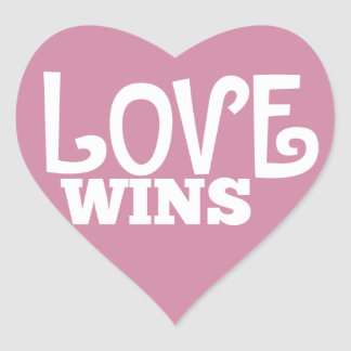 Love Wins Stickers
