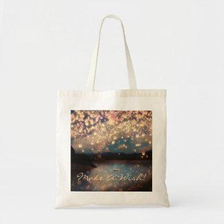 Love Wish Lanterns Budget Tote Bag