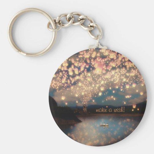 Love Wish Lanterns Key Ring