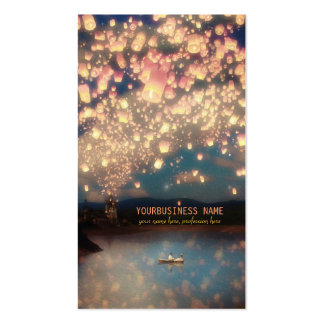 Love Wish Lanterns Pack Of Standard Business Cards