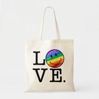 Love With A Happy Rainbow Flag Gay LGBT