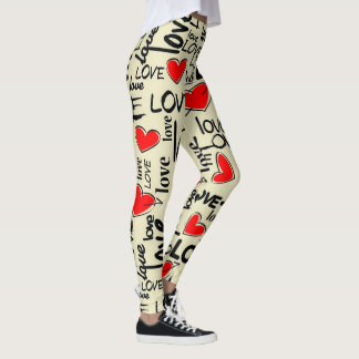 Love with Hearts Leggings
