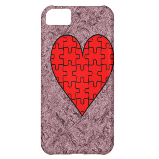 Love With Motif Batik Case For iPhone 5C