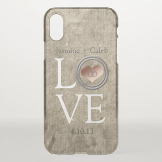 Love-With This Ring by Shirley Taylor iPhone X Case