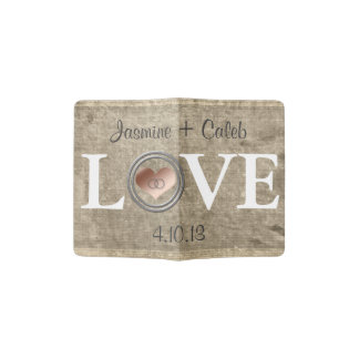 Love-With This Ring by Shirley Taylor Passport Holder